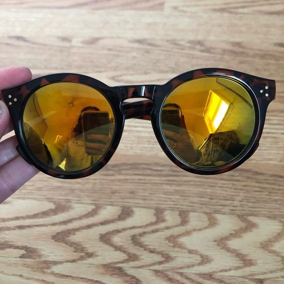 679ea4b25102 Fun Reflective Round Sunglasses